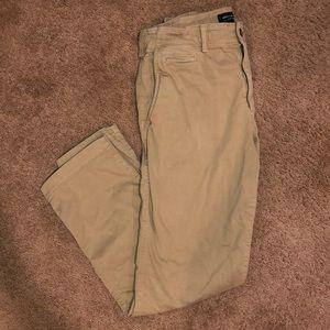 Extreme Flex Relaxed, Straight Khaki Pants 33X32